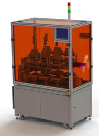 量产型全自动六位纳米压印机