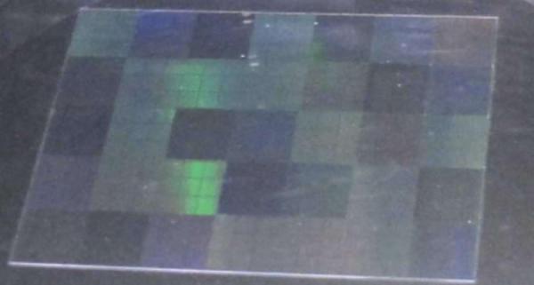 玻璃基底模板